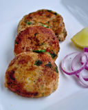 Shammi Kebab. Authentic Shammi Kebab made with chicken royalty free stock image