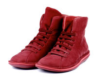 Shammy Boots Stock Image
