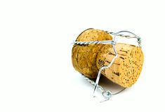 Shampagne Cork Royalty Free Stock Images
