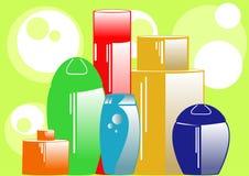 Shampoo Lizenzfreies Stockfoto