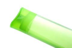 Shampoo bottle close up Stock Images
