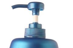 Shampoo bottle pump Royalty Free Stock Photos