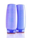 Shampoo bottles Stock Photos