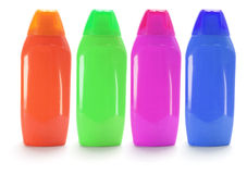 Shampoo Bottles Royalty Free Stock Photo