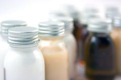 Shampoo bottles Royalty Free Stock Image