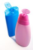 Shampoo bottles Royalty Free Stock Image
