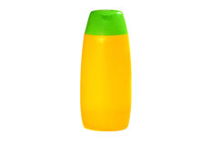 Shampoo container Royalty Free Stock Images