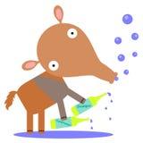 Shampoo en veredelingsmiddel vector illustratie