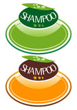 Shampoo.eps. Label design for the shampoo Stock Image
