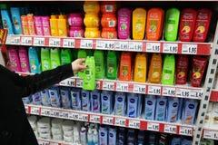 Shampoo Stock Photo