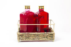 Shampoo, liquid soap in a bottle Royalty Free Stock Photography