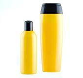 Shampoo op een witte geïsoleerde achtergrond Royalty-vrije Stock Afbeelding