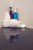 Shampoo and soap Royalty Free Stock Photos