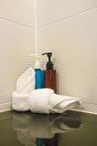Shampoo and soap Stock Photos