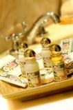 Shampoo- und Duschegel Lizenzfreies Stockfoto