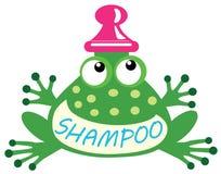 Shampoofrosch Lizenzfreies Stockfoto