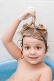 Shampooing Royalty Free Stock Photography