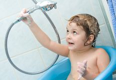 Shampooing Stock Images