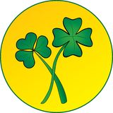Shamrock. For st Patrick day Royalty Free Stock Images
