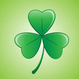 Shamrock 2. Illustration of a clover/shamrock for st patrick's day Royalty Free Stock Photo
