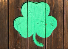 Shamrock Foto de Stock Royalty Free