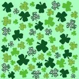 Shamrock. Several designed shamrocks for St. Patricks day Royalty Free Stock Image