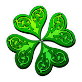 Shamrock. This illustration can be used for your design Stock Photo
