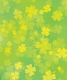Shamrock. Background for st. Patrick's day Royalty Free Stock Photos