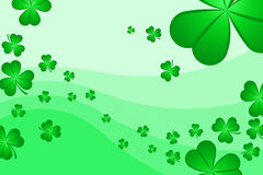 Shamrock Background Royalty Free Stock Photo