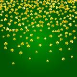 Shamrock background for Saint Patricks Day. stock photo