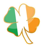 Shamrock badge Stock Images