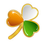 Shamrock badge Royalty Free Stock Photo