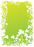 Shamrock border 5 Royalty Free Stock Images
