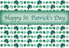 Shamrock Card Royalty Free Stock Photo