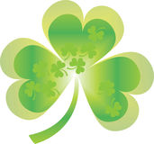 Shamrock and clover Royalty Free Stock Photos
