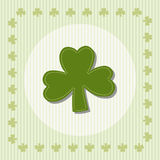 Shamrock, clover illustration. For design Stock Photos