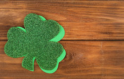 Shamrock. Clover leaves. St. Patrick's Day Stock Images
