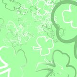 Shamrock Confetti Stock Photography