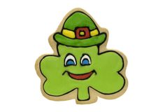 Shamrock Cookie Stock Image