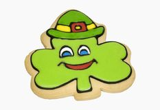 Shamrock Cookie Stock Images