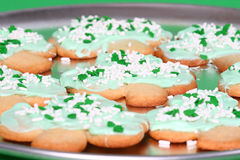 Shamrock Cookies Royalty Free Stock Image