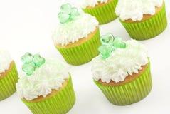 Shamrock Cupcakes Royalty Free Stock Image