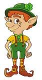Shamrock do Leprechaun Imagem de Stock Royalty Free