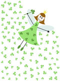 Shamrock fairy Stock Photography