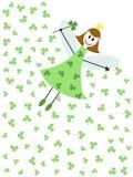 Shamrock fairy Stock Photography