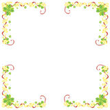 Shamrock frame Royalty Free Stock Image