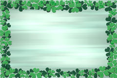 Shamrock Frame. Royalty Free Stock Photos