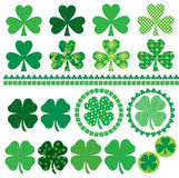 Shamrock frames and borders Royalty Free Stock Photo
