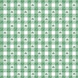 Shamrock-Gingham Lizenzfreie Stockfotos