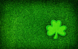 Shamrock Glitter Background Royalty Free Stock Photography